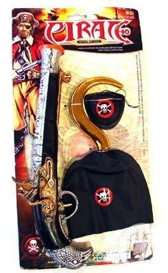 Pirat sæt med tre dele