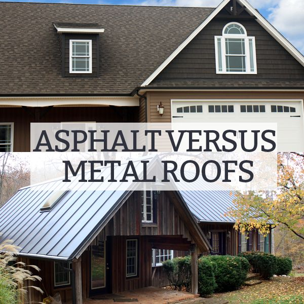 They Differ In Appearance, Cost, Durability, And Other Factors. Weu0027ve Laid  Out The Major Differences Between Asphalt And Metal Roofs ...