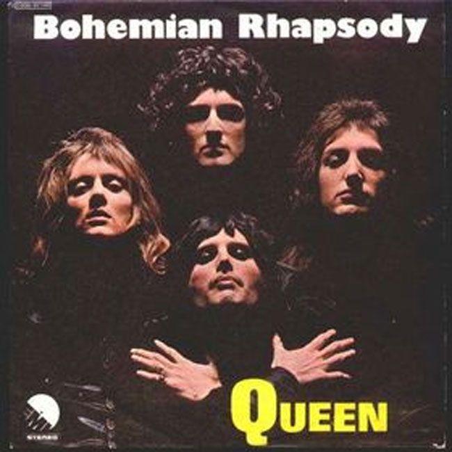 """""""Bohemian Rhapsody"""" was sang by Queen in 1975."""