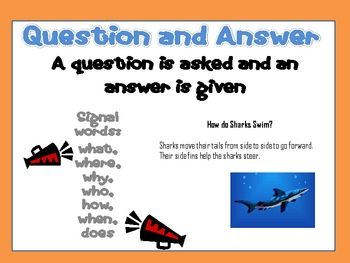 This mini-poster can be used to support a mini-lesson on the non-fiction text structure of ...
