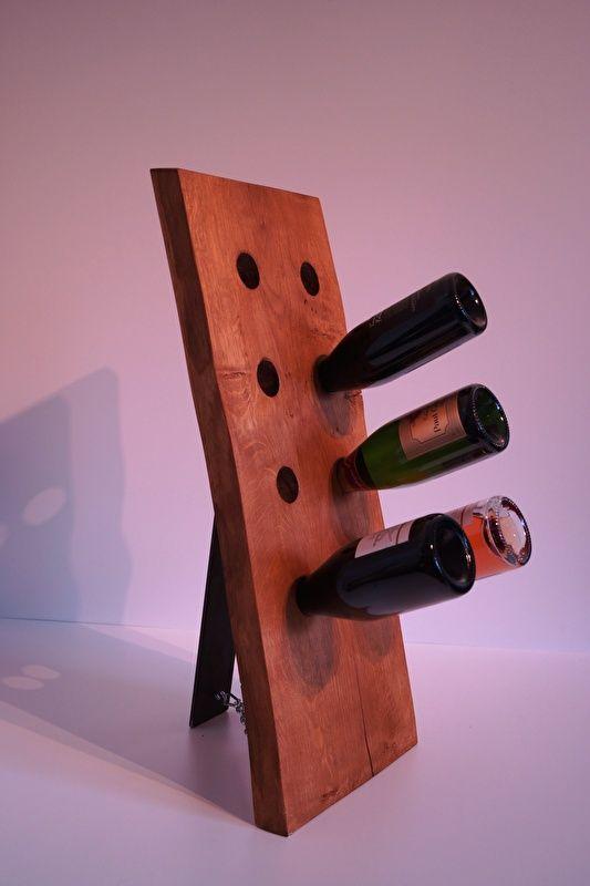 Wijn- en champagnerek 8 flessen