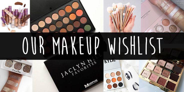 Our makeup wishlist blog post. Jaclyn Hill, Tarte, Eyeshadow, Tarte shape tape, Kylie cosmetics, Morphe.