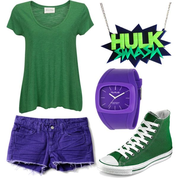 Superhero party. The Incredible Hulk. Costume ideas.