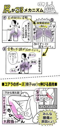 尻のコリが腰痛の原因?「尻ほぐし」でだるさ、腰痛、冷えを撃退せよ! - いまトピ