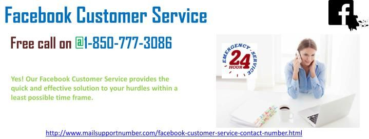 Shall I take the Facebook Customer Service 1-850-777-3086 anytime?If yes, then experts are available 24*7 to help you. Pick up your phone and dial 1-850-777-3086 to eliminate any issue averting your task as our highly proficient team has satisfied thousands of customers already, around the world. http://www.mailsupportnumber.com/facebook-technical-support-number.html