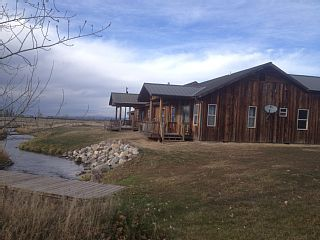 Lucky Duck Ranch On 20 Acres On Private CreekVacation Rental in Bozeman from @homeaway! #vacation #rental #travel #homeaway
