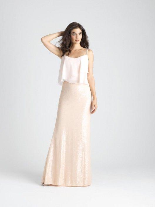53 besten 2-piece Bridesmaid Dresses Bilder auf Pinterest   Stil ...