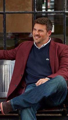 Very comfortable in blue jeans, sweater, shirt & sport coat. Find BIG & TALL Shirts at Little Hawk Trading: http://stores.ebay.com/Little-Hawk-Trading/2XL-6XL-Big-Tall-Shirts-/_i.html?_fsub=9047779010&_sid=14659750&_trksid=p4634.c0.m322 Mens CLOTHING: http://stores.ebay.com/Little-Hawk-Trading/Mens-Clothing-/_i.html?_fsub=2810895010&_sid=14659750&_trksid=p4634.c0.m322