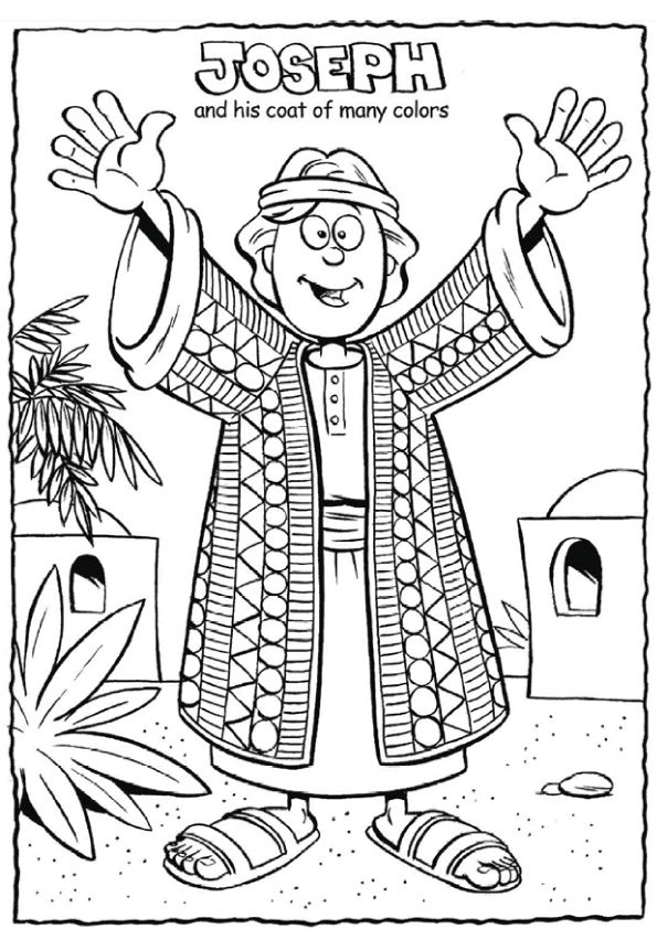 Print coloring image coloriage for Dorcas in the bible coloring pages