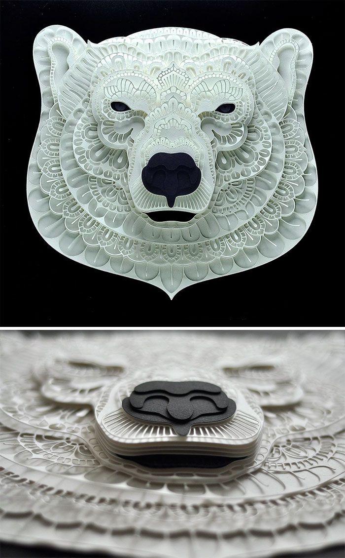 Com o intuito de chamar a atenção das pessoas sobre os animais que sofrem o perigo de extinção, o artista Patrick Cabral que mora em Filipinas criou uma linda série de animais em papel. São tantos recortes e camadas de papel que a arte fica realmente incrível e ainda deixam as esculturas em 3D, dando …