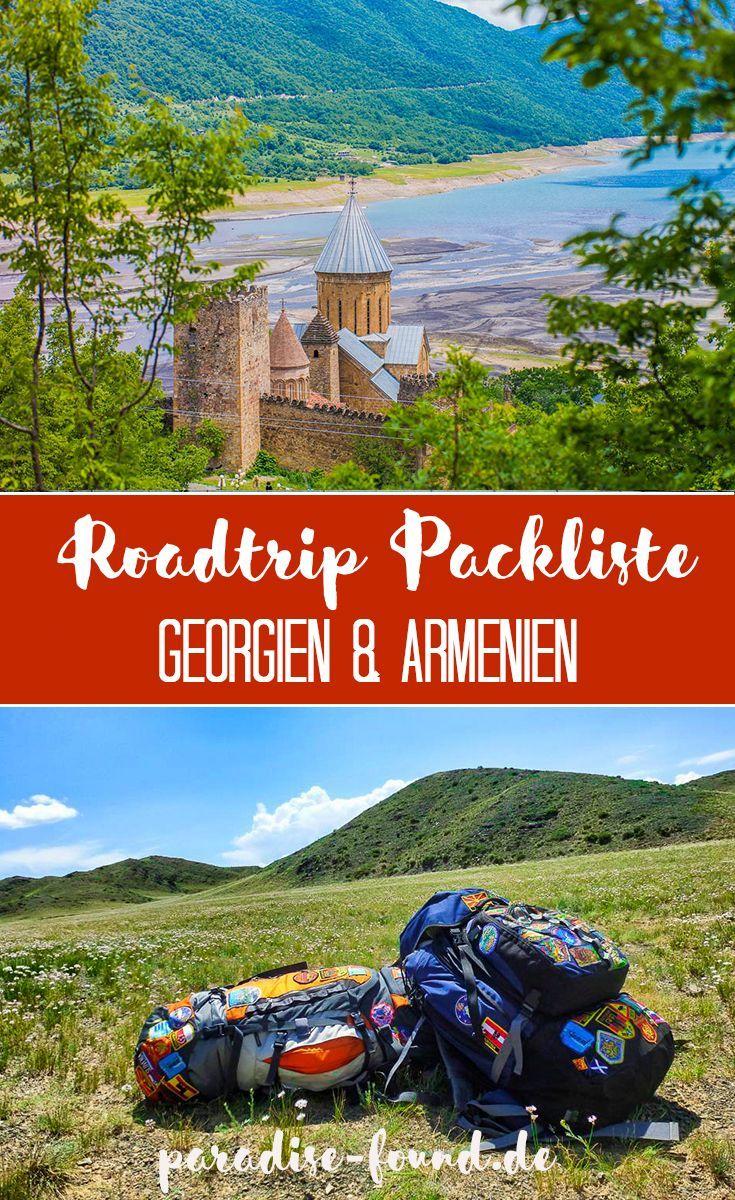 Armenien Georgien Roadtrip Route Reisevorbereitung Tipps Reisen Georgien Weltreise
