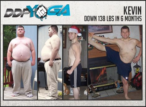 This guy lost 138 lbs in 6 months doing DDP Yoga (a ...