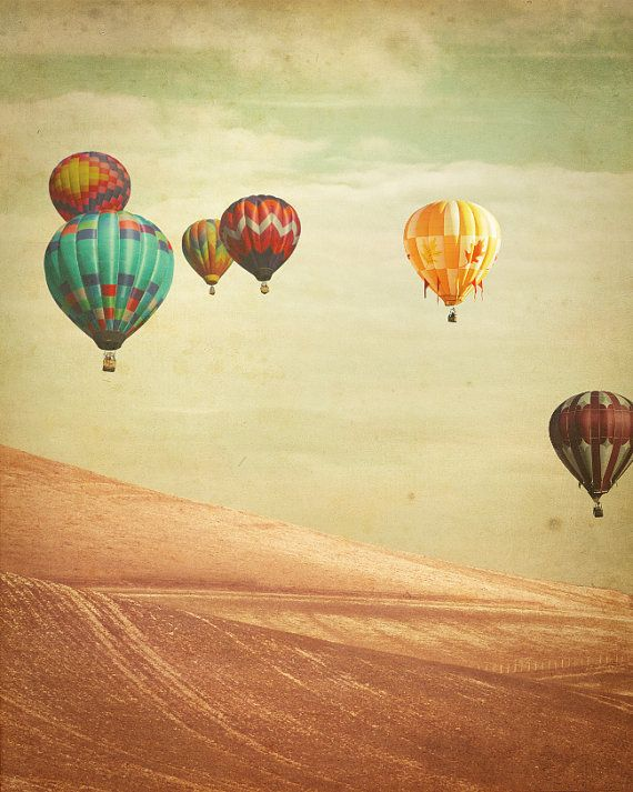 Hot Air Balloon Photography  Wanderers  Fine Art by KeriBevan, $30.00  nursery decor