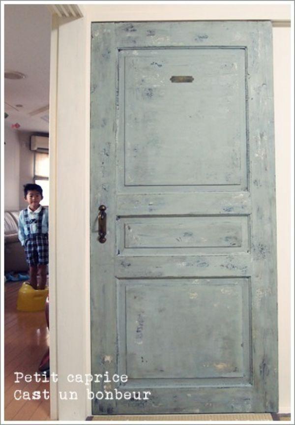 みりさんの作品 和室のふすまをアンティーク風ドアにリメイク