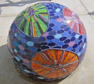 Decorative Mosaic Balls 1940 Best Mosaics In The Garden Images On Pinterest  Mosaic Art