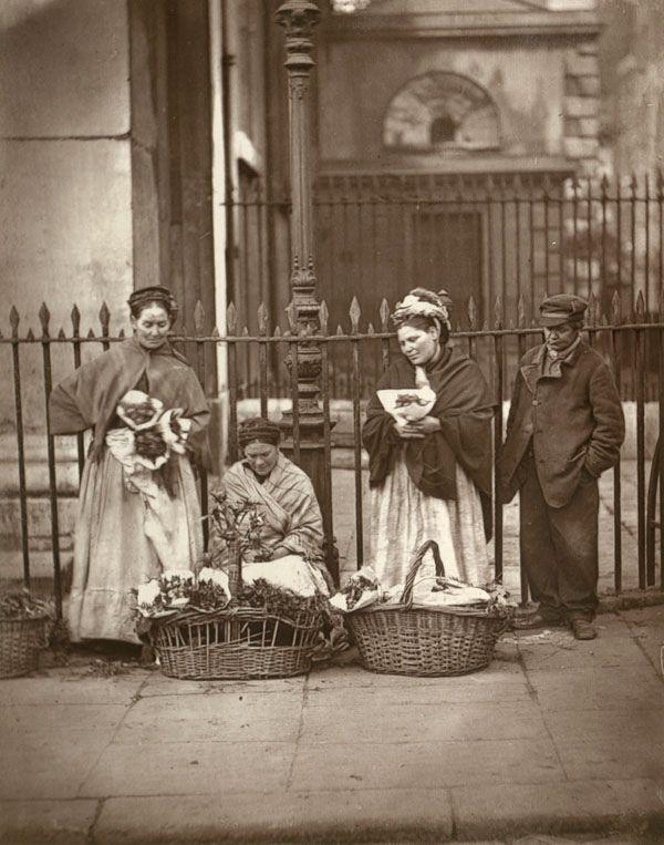 Covent Garden Flower sellers, ca.1890