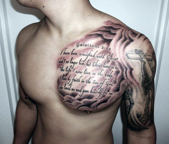 40 Quote Tattoos For Men Expression Of Words Written In Ink Cool Chest Tattoos Chest Tattoo Men Verse Tattoos