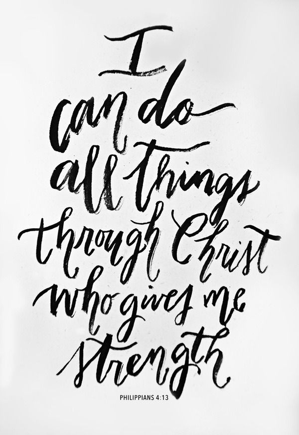 Image result for i can do all things through christ who strengthens me pinterest