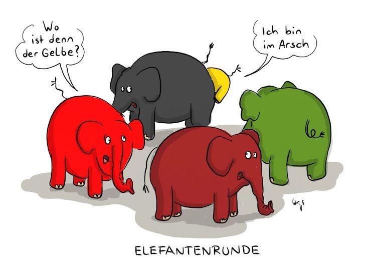 #Elefantenrunde :-)