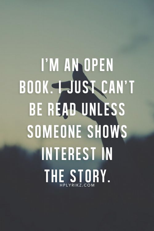 Inspirational Quotes About Opening Up To Someone