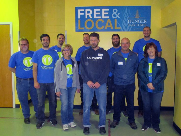 Our Milwaukee team volunteered with Hunger Task Force in Milwaukee, WI this past month. Way to give back to the community! http://laforceinc.com/about/community-involvement/