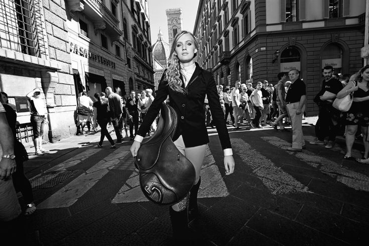 Cavalleria Toscana Advertising Campaign- Chloe Vell in Florence