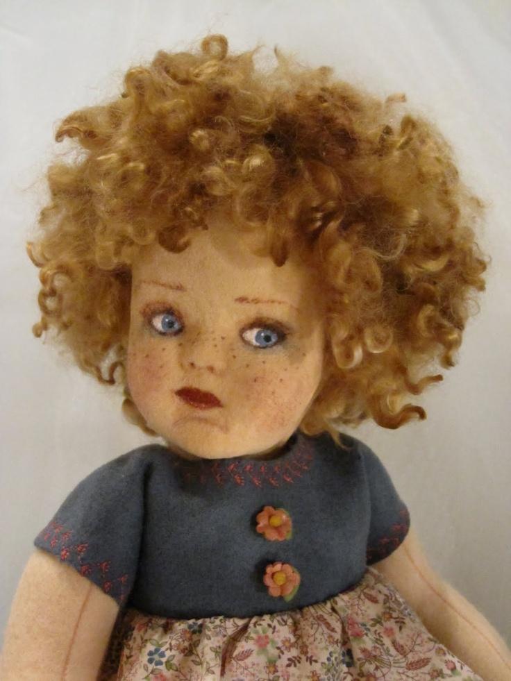 tres jolie poupée LenciJolie Poupée, Felt Dolls, Dolls Daphne, Australian Artists, Antiques Dolls, Jolie Poupe 233, Poupe 233 Lenci, Daphne 017, Artists Vicky