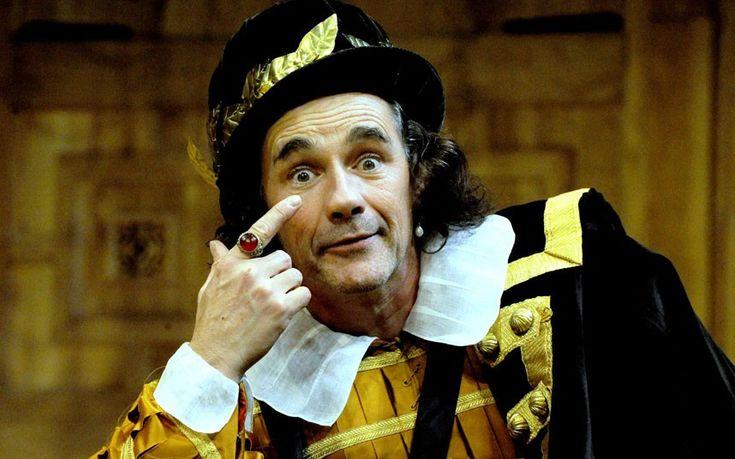Mark Rylance as Richard III 2012.