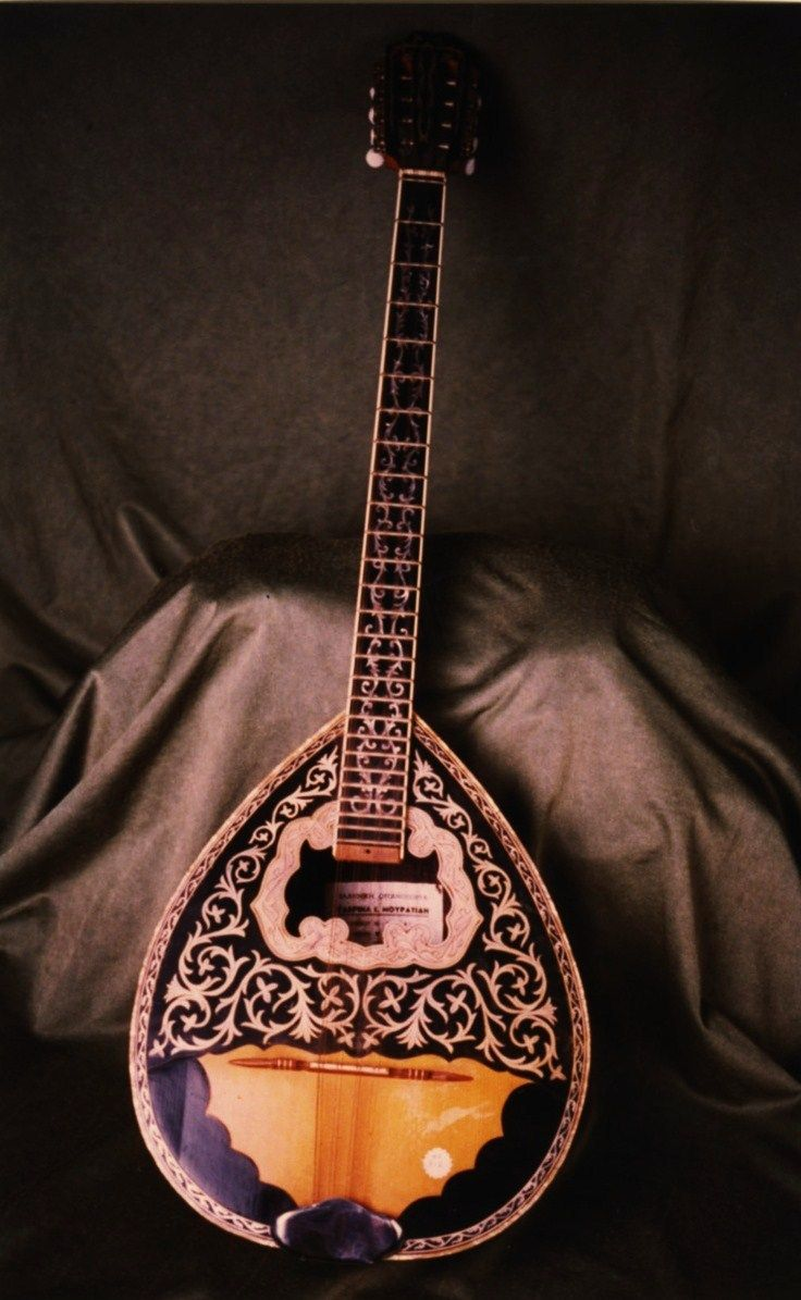 Bouzouki  Traditional Greek Music Instrument