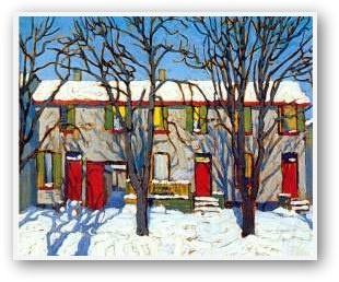 The Red Doors II, Lawren Harris
