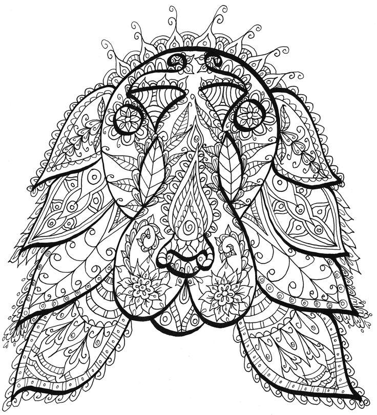 dog sugar skull coloring pages | 17 Best images about Sugar Skulls (Coloring Pages) on ...