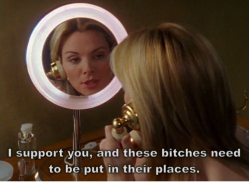 "On conflict resolution: | The 21 Best Things Samantha Jones Ever Said On ""Sex And The City"""