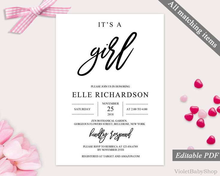 The 25+ best Baby shower invitation templates ideas on Pinterest - free baby shower invitation templates for word