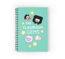 The Classroom Gems! // Steven Universe Crystal Gems Chibi Spiral Notebook