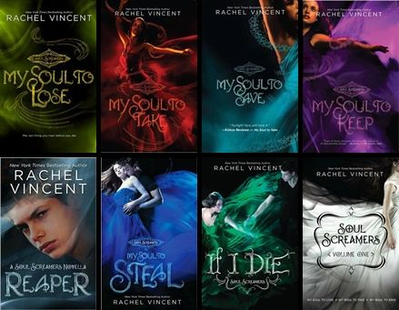 Soul Screamers series by Rachel Vincent