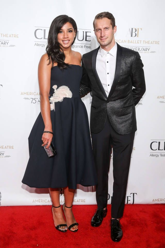 Hannah Bronfman and Brendan Fallis. See who wore what to the fall gala last night: