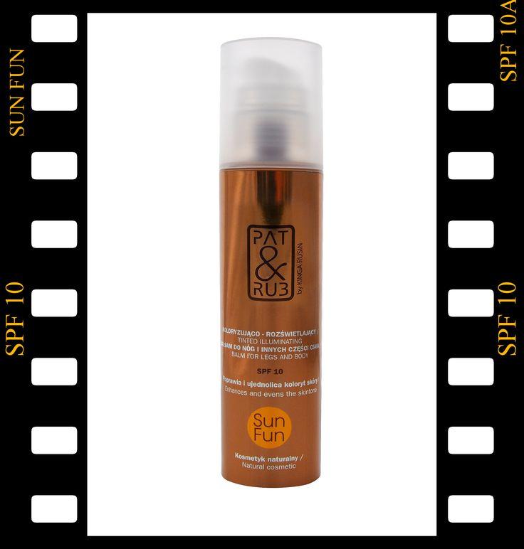 NOWOŚĆ! Koloryzująco - Rozświetlający Balsam do Nóg z spf 10, #bb_do_ciała #kosmetyki #kosmetyki_naturalne