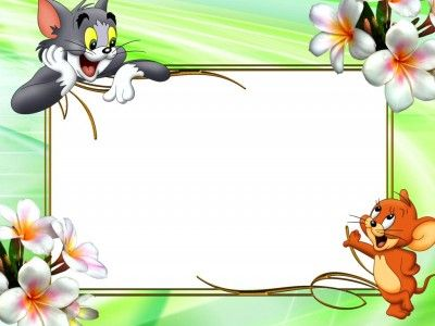 Kids frame PPT Backgrounds
