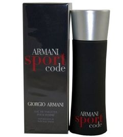 Sign up for a free sample of Giorgio Armani Code Sport Fragrance.