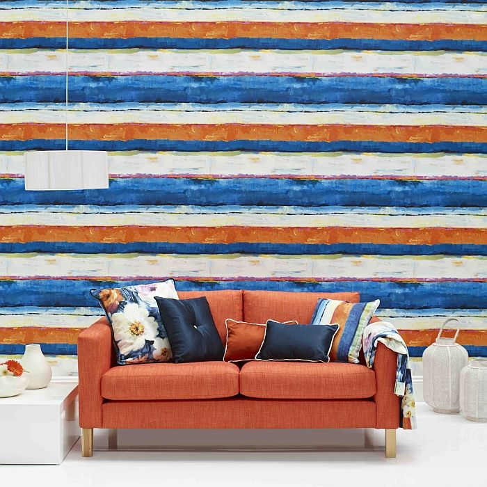 89 Best Whats New In Wallpaper Paint Fabric Images On: 89 Best BLUE AND TERRACOTTA Images On Pinterest
