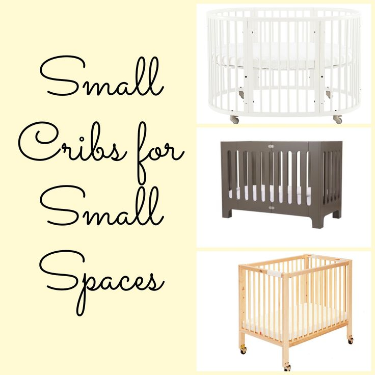 8 Small Cribs For Tiny Living Spaces Design Nursery