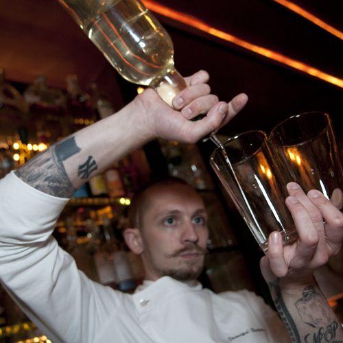David Delancy, a Hooch network bartender, won $10,000 at Angostura's 2012 Cocktail Challenge.