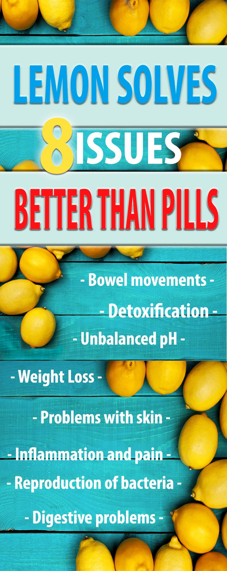 8 Issues That Lemon Solves Better Than Pills