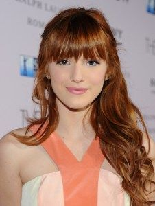 I like the uneven texture of the bangs, but I would want it to be a little shorter