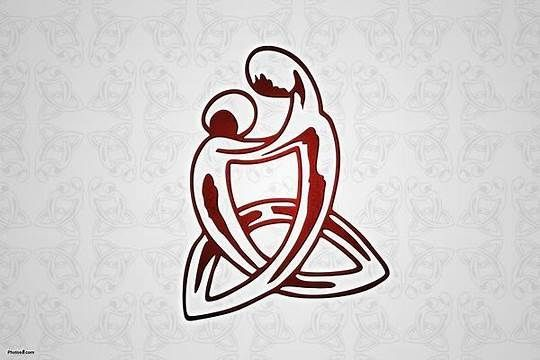 Mother Son Celtic Symbol Tattoo Design