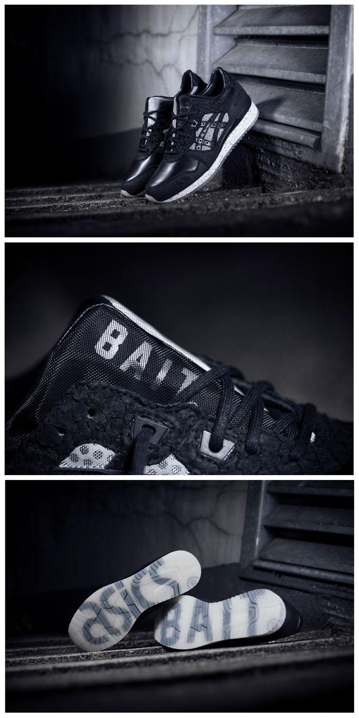 "BAIT x Asics Gel Lyte III ""Nightmare"""