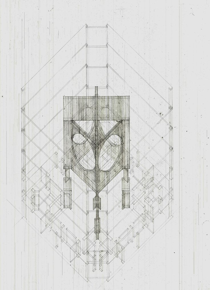 A study and analysis of architectural components and structural relationships present in Louis Kahn's 'Phillips Exeter Academy Library.'