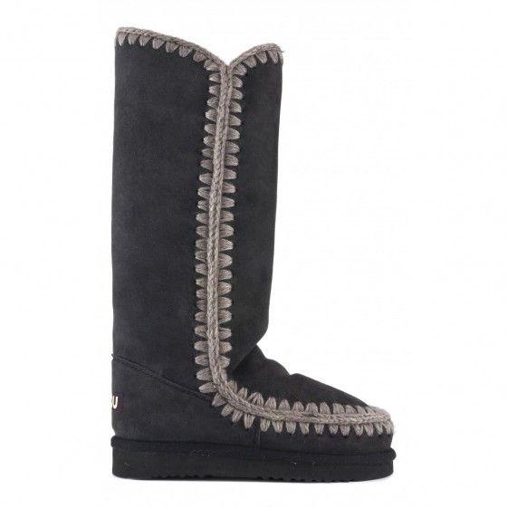 Mou tall eskimo boots off black