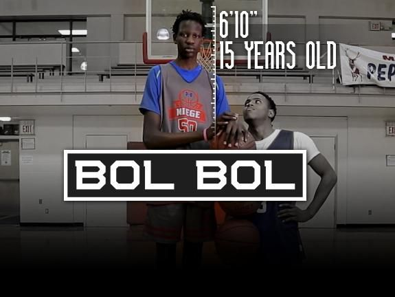 """Finishing a Father's Dream: Manute Bol's Son Could Be a 7'4"""" Kevin Durant"""