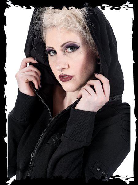 Dámska bunda Queen Of Darkness JA1-276/13 - 4